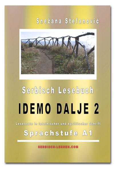 """Lesebuch Serie """"Idemo dalje"""" von Serbisch-lernen.com"""